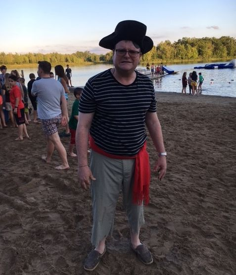 Researcher of the Month: David Boone Pirate Day at Camp Oasis